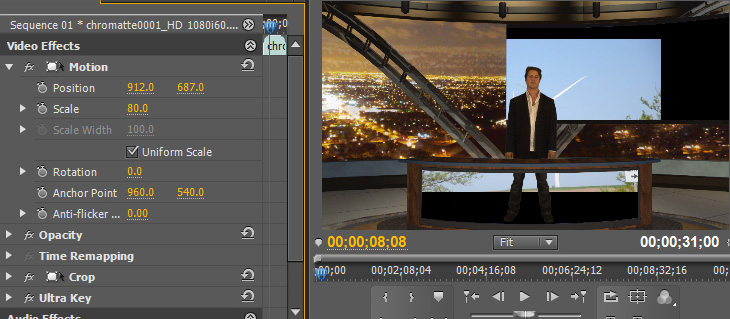 how to change speed of a clip on premiere elements
