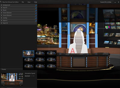 Virtual Set Editor Presets