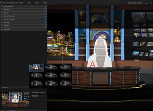 NewTek Virtual Set Editor