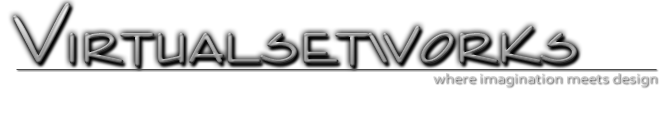 virtual set logo